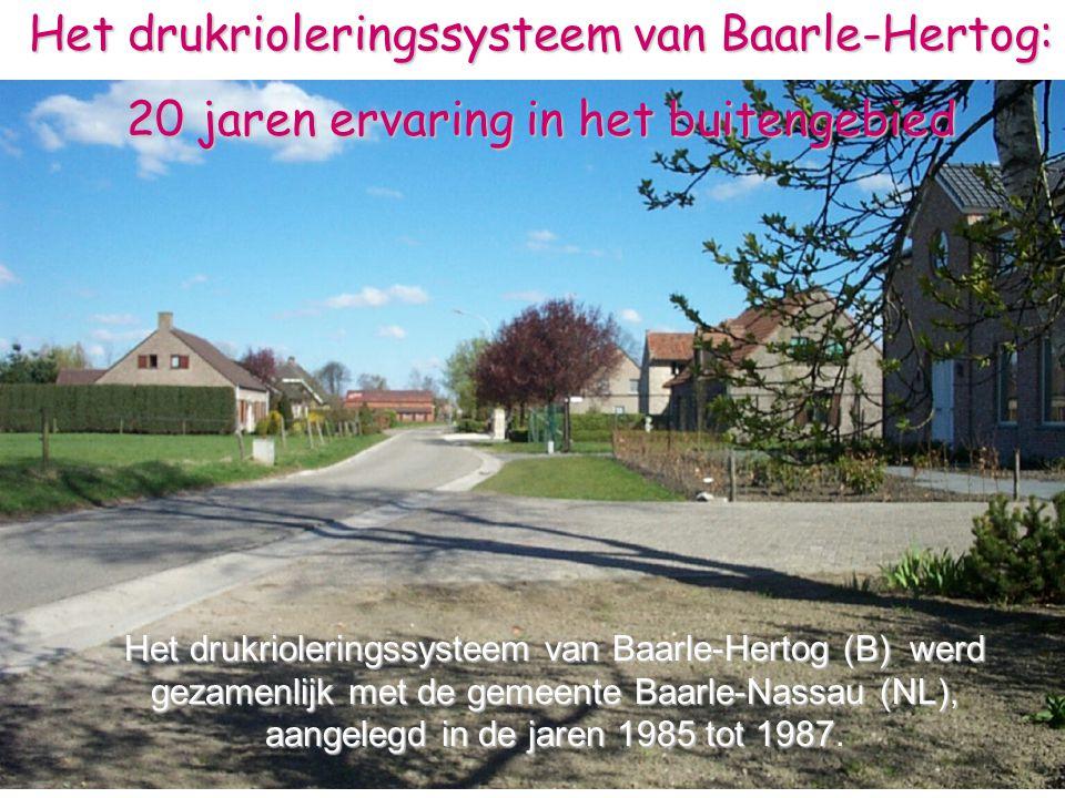 Het drukrioleringssysteem van Baarle-Hertog: