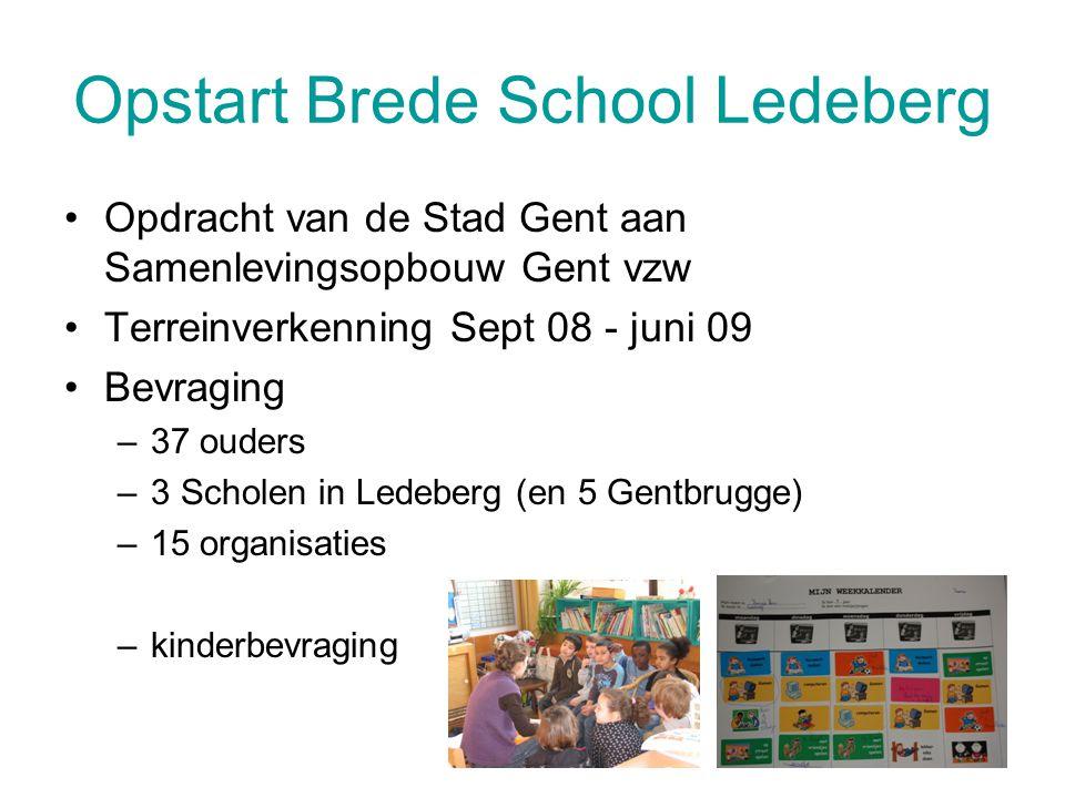 Opstart Brede School Ledeberg