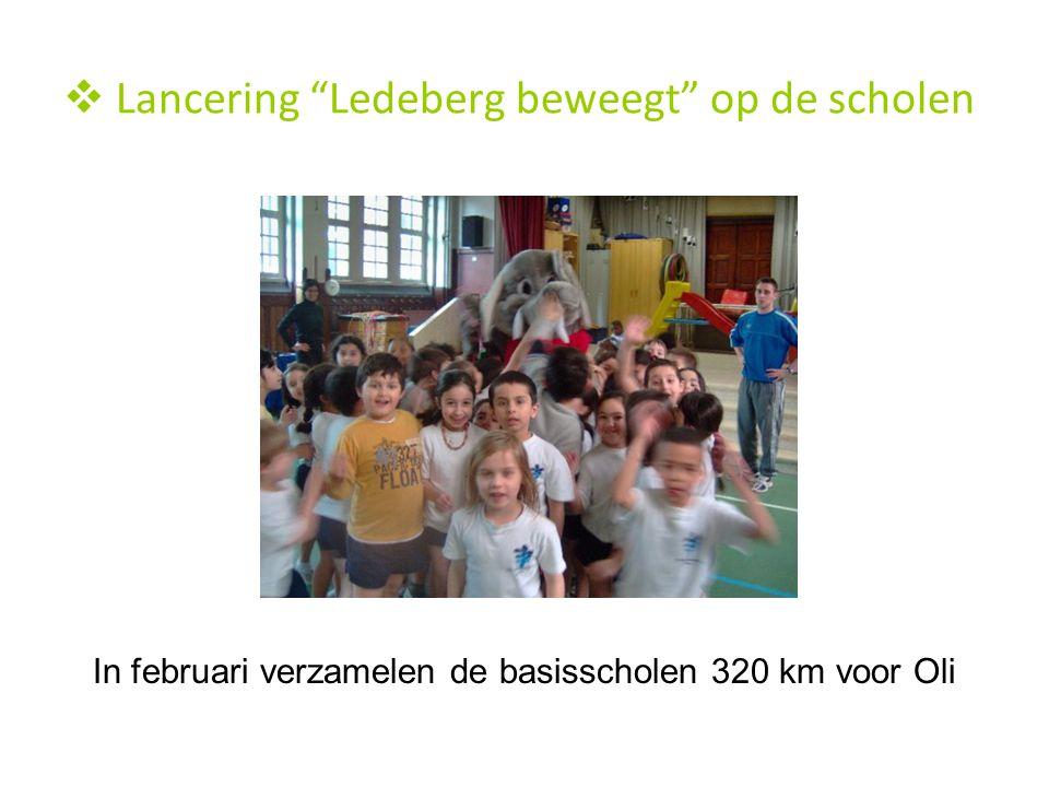 Lancering Ledeberg beweegt op de scholen