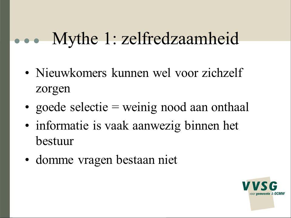 Mythe 1: zelfredzaamheid