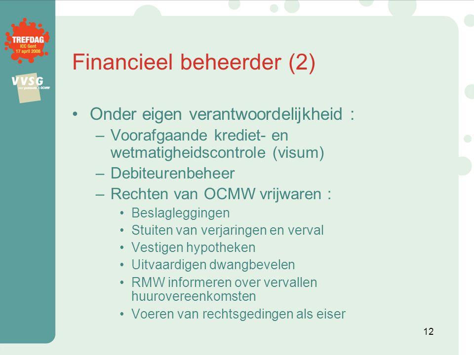 Financieel beheerder (2)