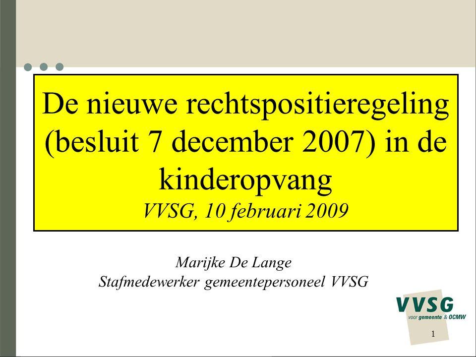 Marijke De Lange Stafmedewerker gemeentepersoneel VVSG