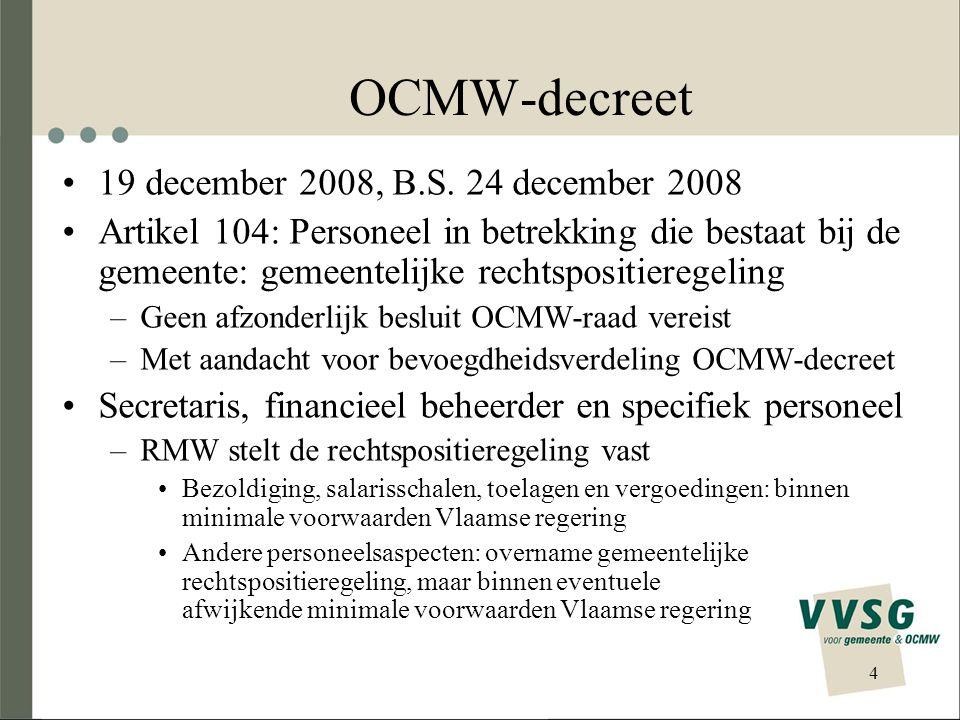 OCMW-decreet 19 december 2008, B.S. 24 december 2008