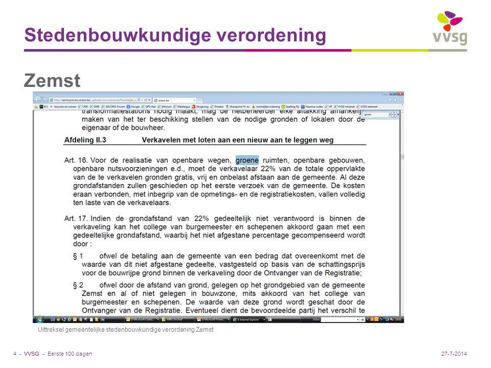 Stedenbouwkundige verordening