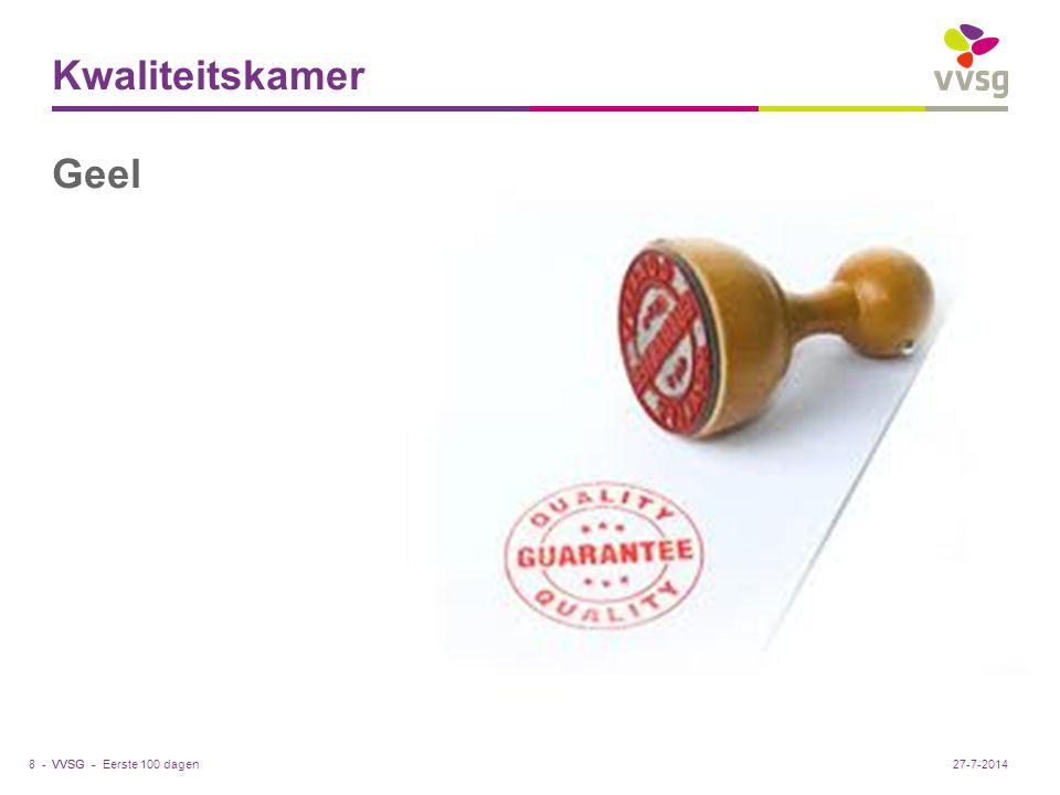Kwaliteitskamer Geel. Cel stadsontwikkeling en -planning Werft 20 2440 Geel tel. 014 56 62 50 fax 014 56 62 39 nele.raets@geel.be.