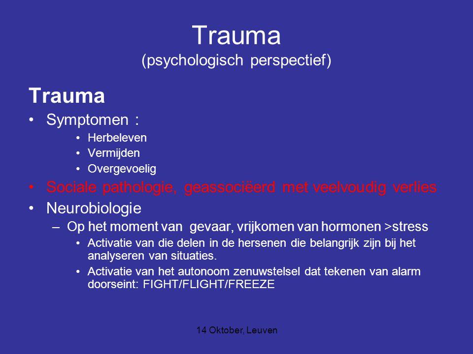 Trauma (psychologisch perspectief)