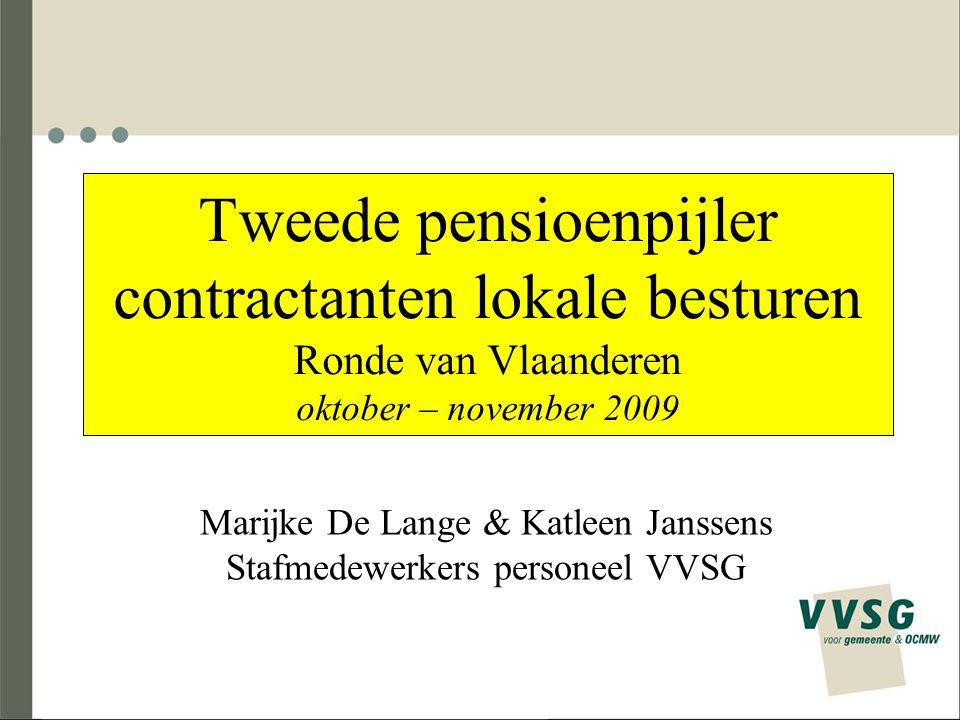 Marijke De Lange & Katleen Janssens Stafmedewerkers personeel VVSG