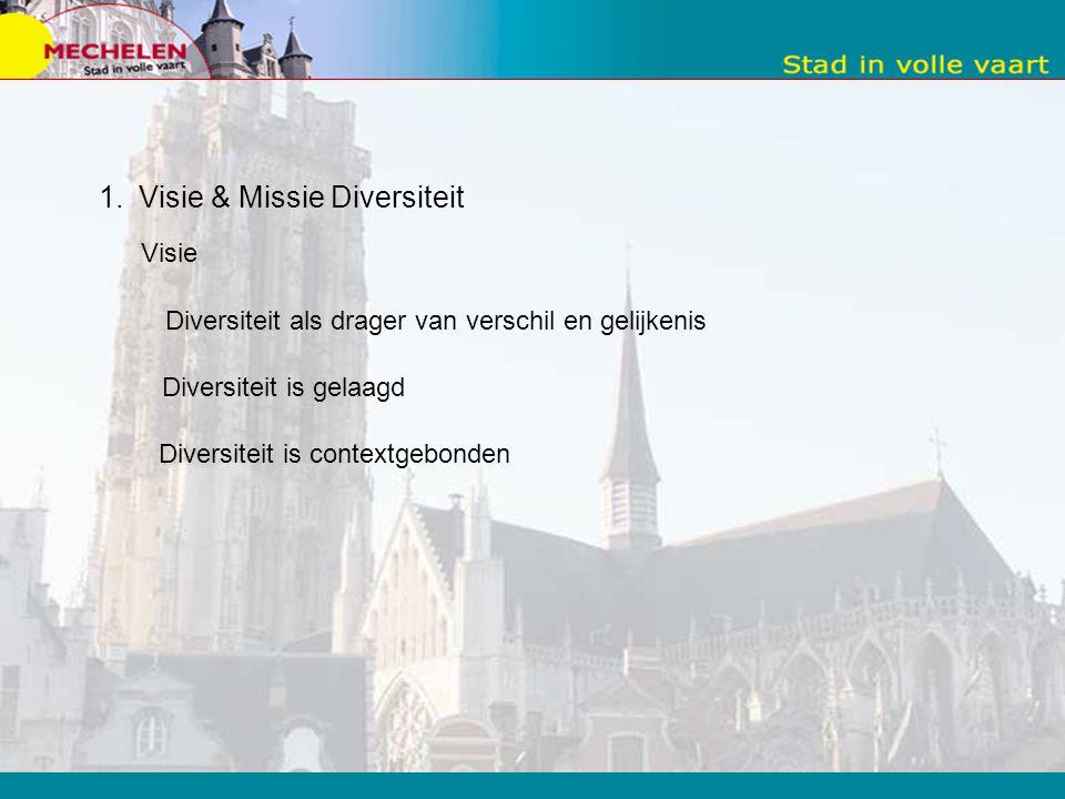 Visie & Missie Diversiteit