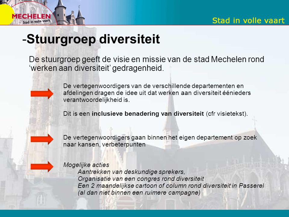 Stuurgroep diversiteit