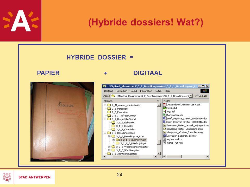 (Hybride dossiers! Wat )