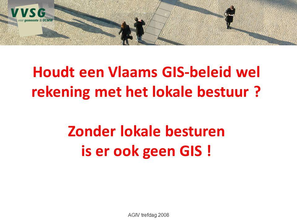 Houdt een Vlaams GIS-beleid wel rekening met het lokale bestuur