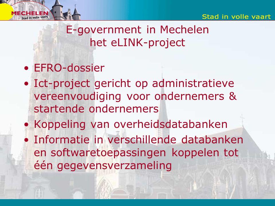 E-government in Mechelen het eLINK-project
