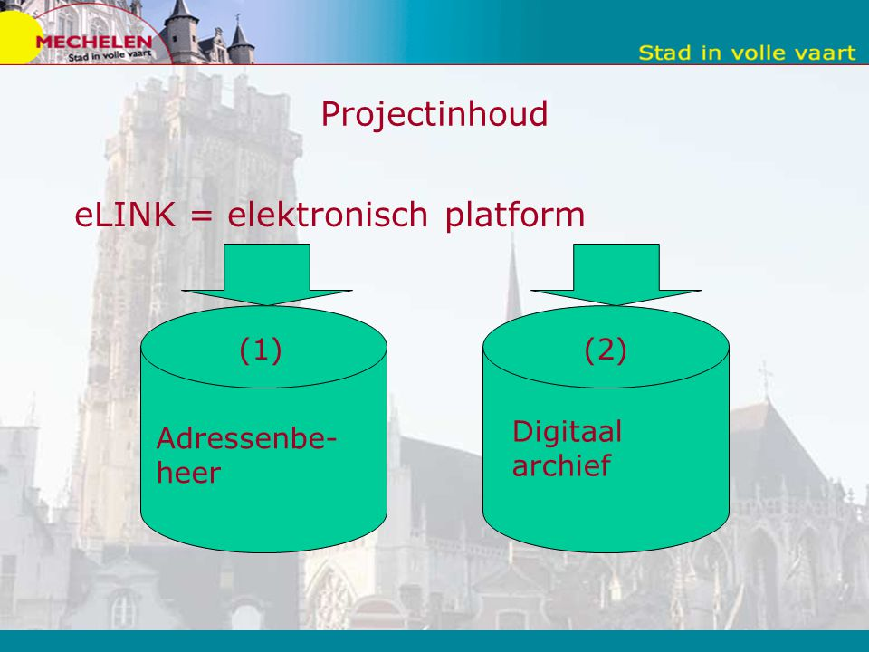 eLINK = elektronisch platform