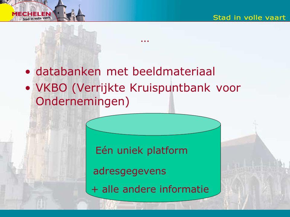 databanken met beeldmateriaal
