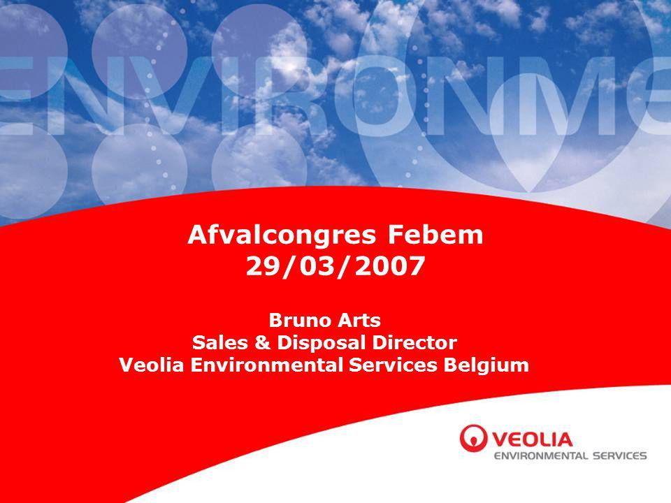 Sales & Disposal Director Veolia Environmental Services Belgium
