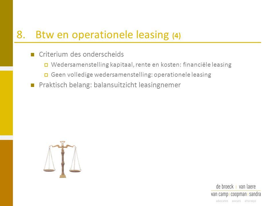 8. Btw en operationele leasing (4)
