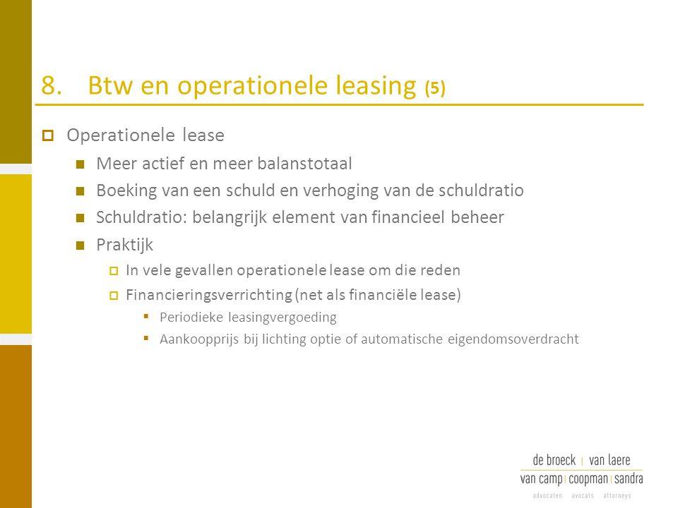 8. Btw en operationele leasing (5)