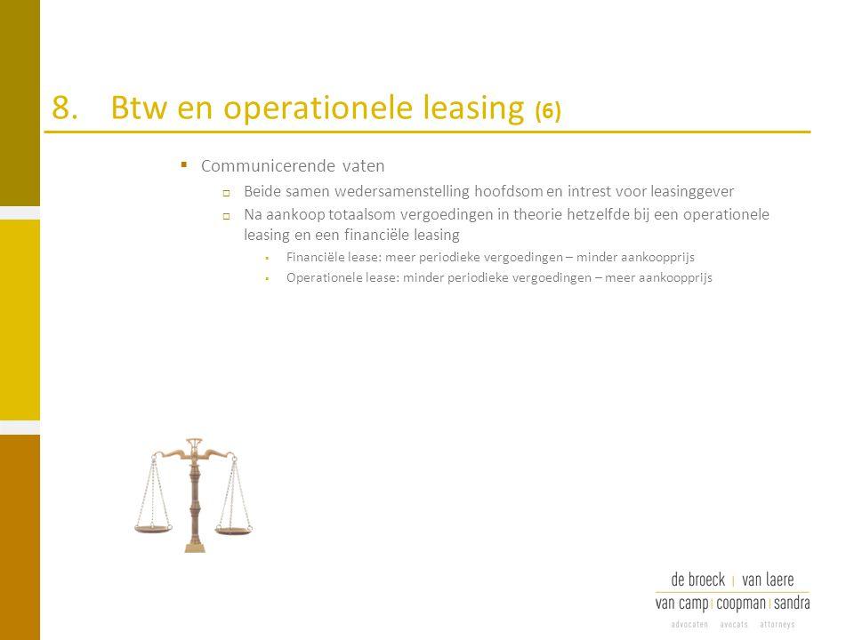 8. Btw en operationele leasing (6)