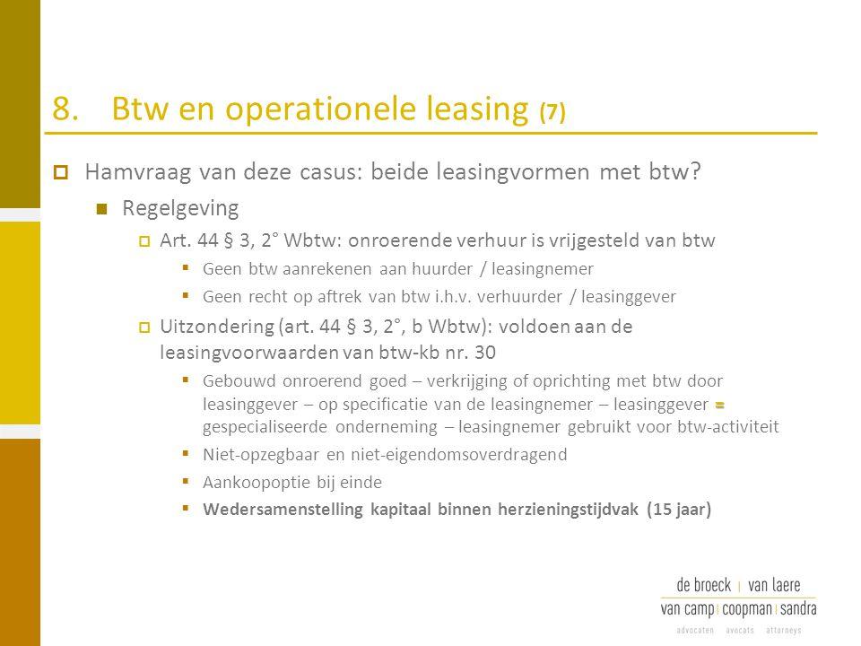 8. Btw en operationele leasing (7)