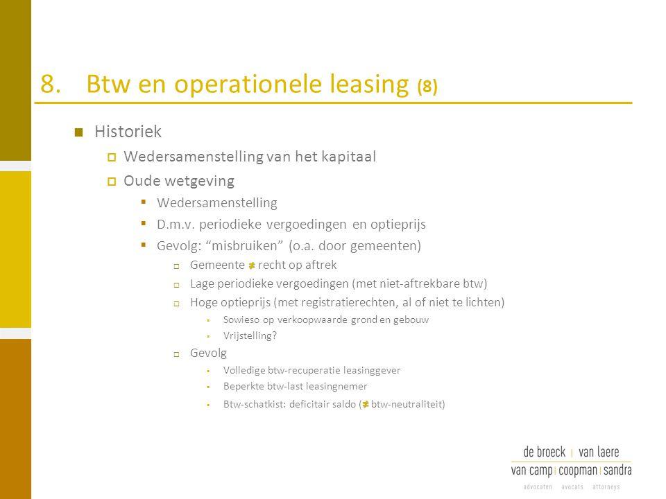 8. Btw en operationele leasing (8)