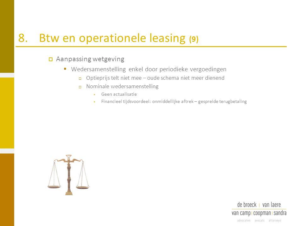 8. Btw en operationele leasing (9)
