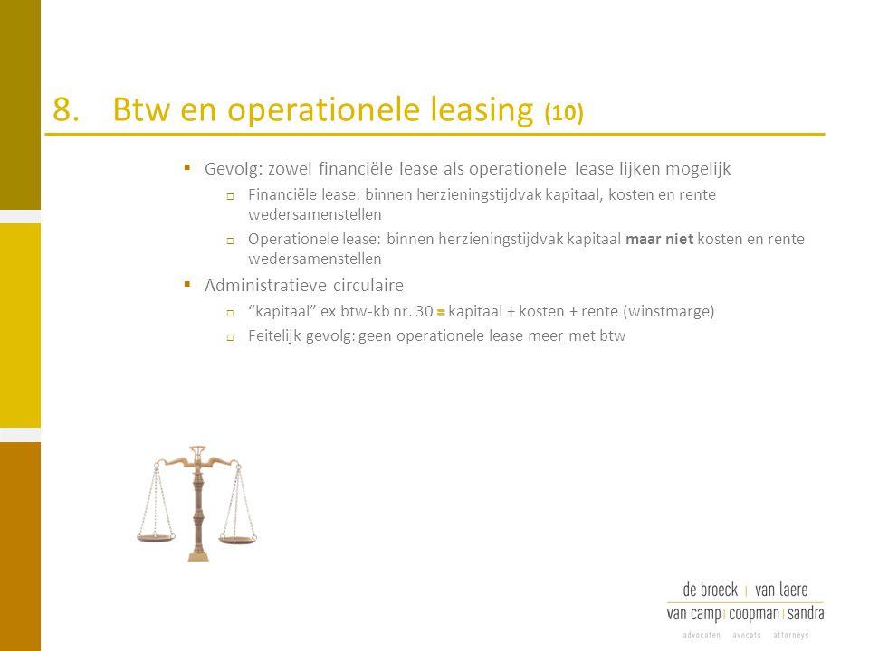8. Btw en operationele leasing (10)