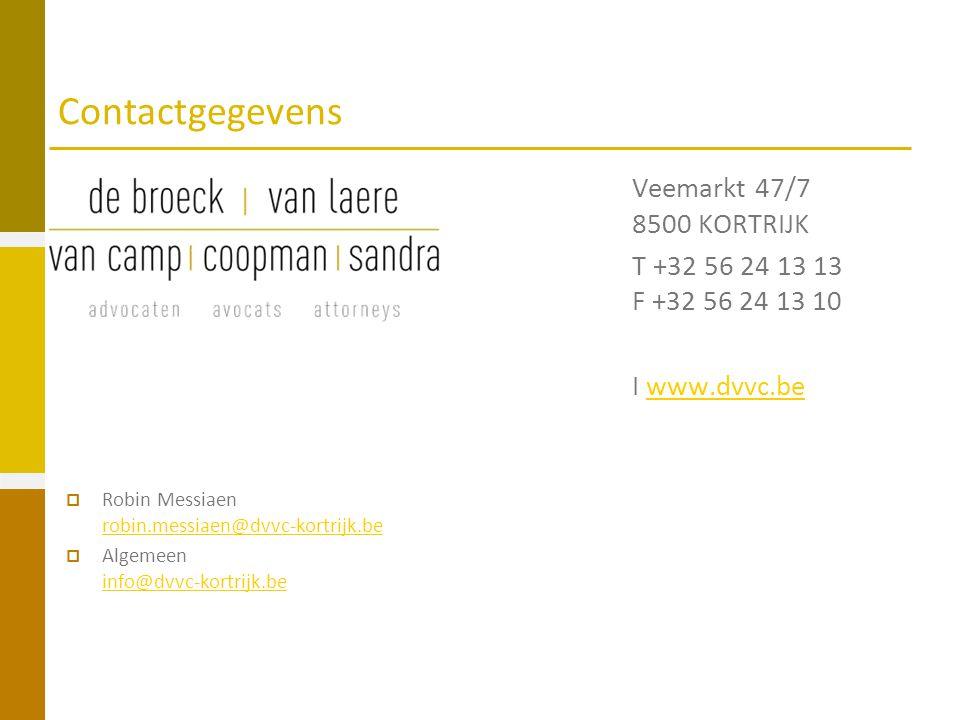 Contactgegevens Veemarkt 47/7 8500 KORTRIJK