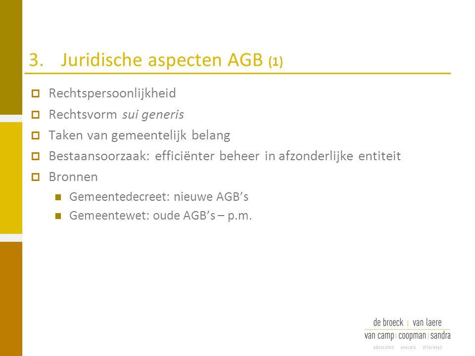 3. Juridische aspecten AGB (1)