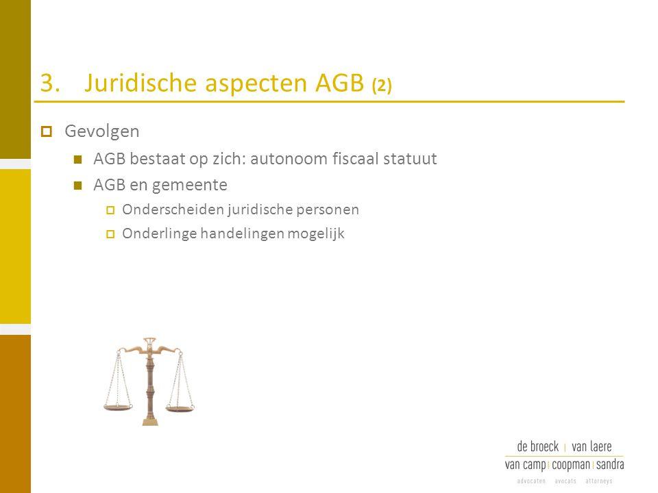 3. Juridische aspecten AGB (2)