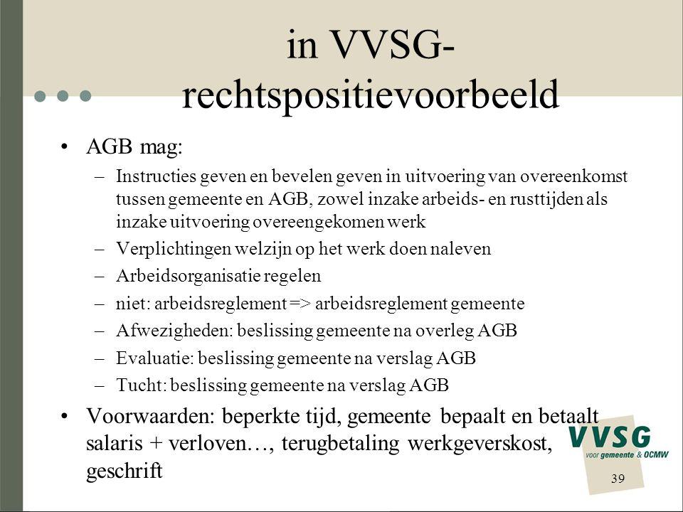 in VVSG-rechtspositievoorbeeld