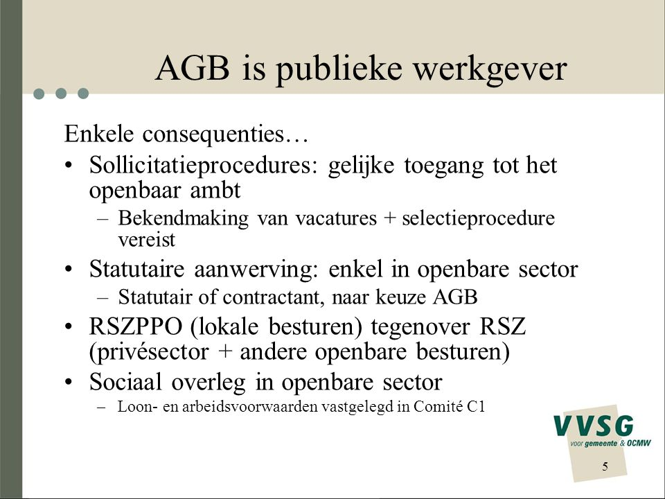 AGB is publieke werkgever