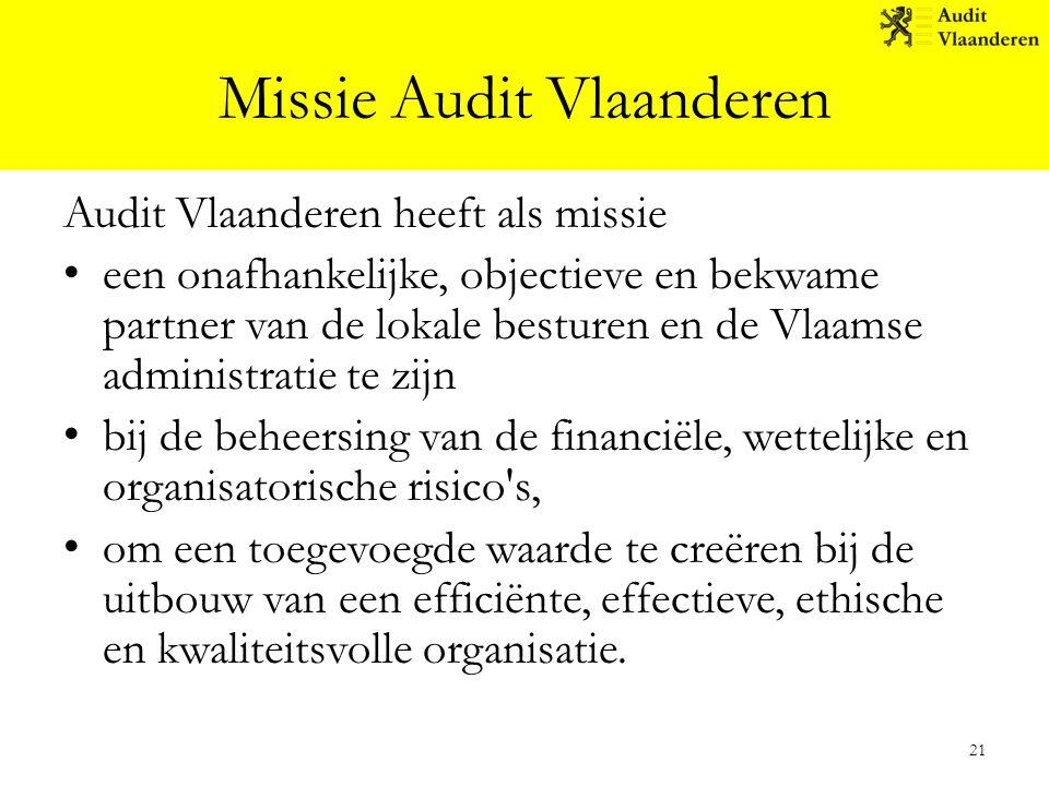 Missie Audit Vlaanderen