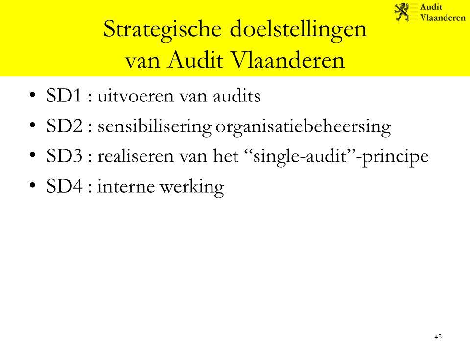 Strategische doelstellingen van Audit Vlaanderen