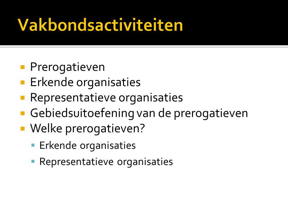 Vakbondsactiviteiten