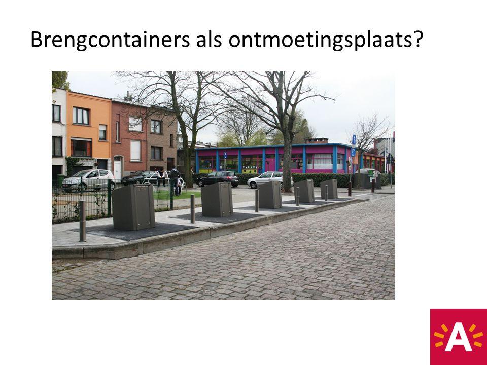 Brengcontainers als ontmoetingsplaats