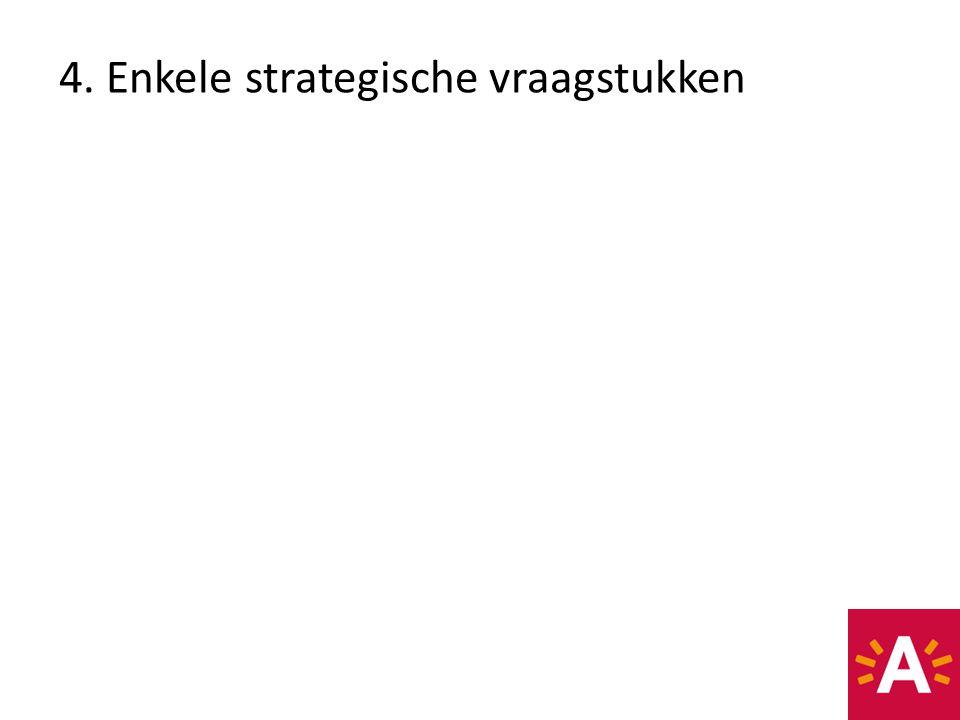 4. Enkele strategische vraagstukken