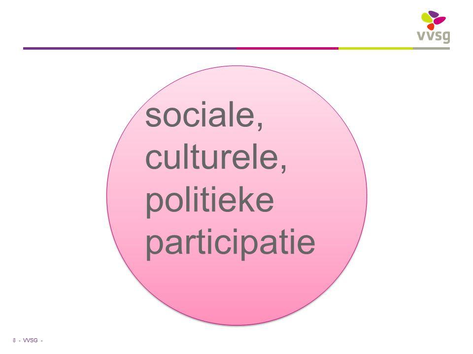sociale, culturele, politieke participatie
