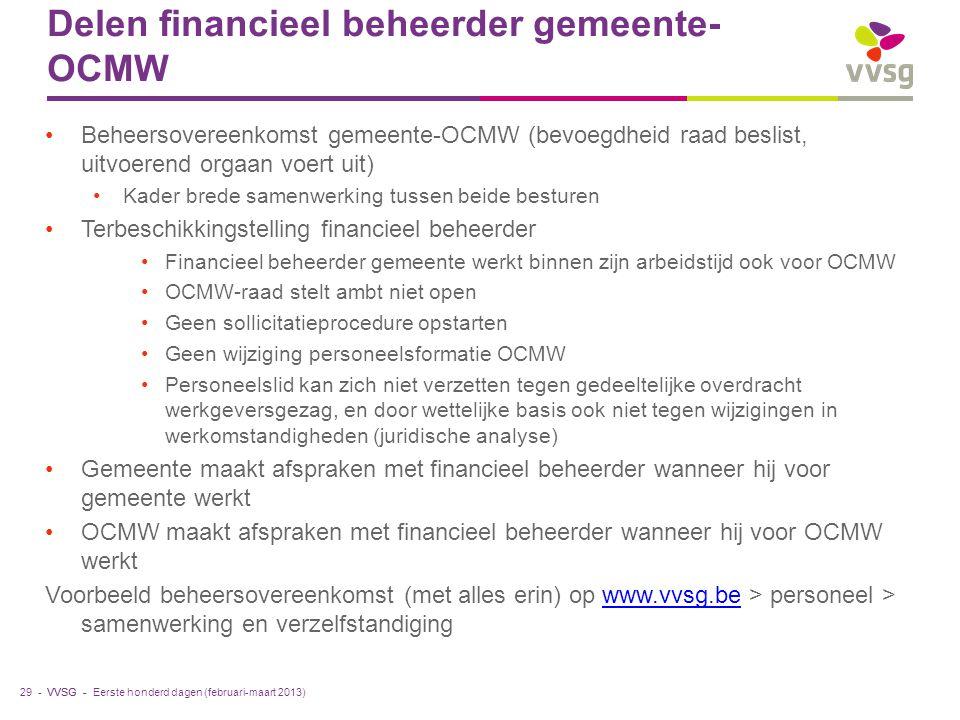 Delen financieel beheerder gemeente-OCMW