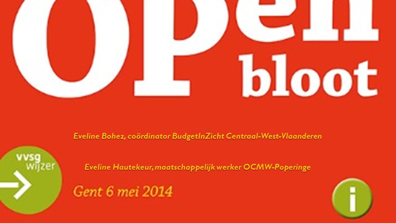 Eveline Bohez, coördinator BudgetInZicht Centraal-West-Vlaanderen