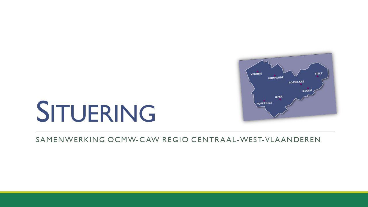 Samenwerking OCMW-CAW regio centraal-west-vlaanderen