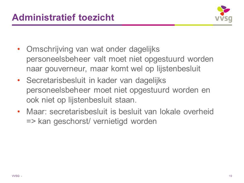 Administratief toezicht