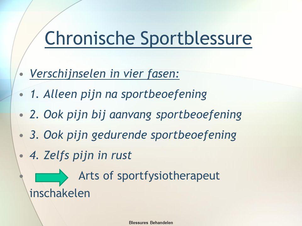 Chronische Sportblessure