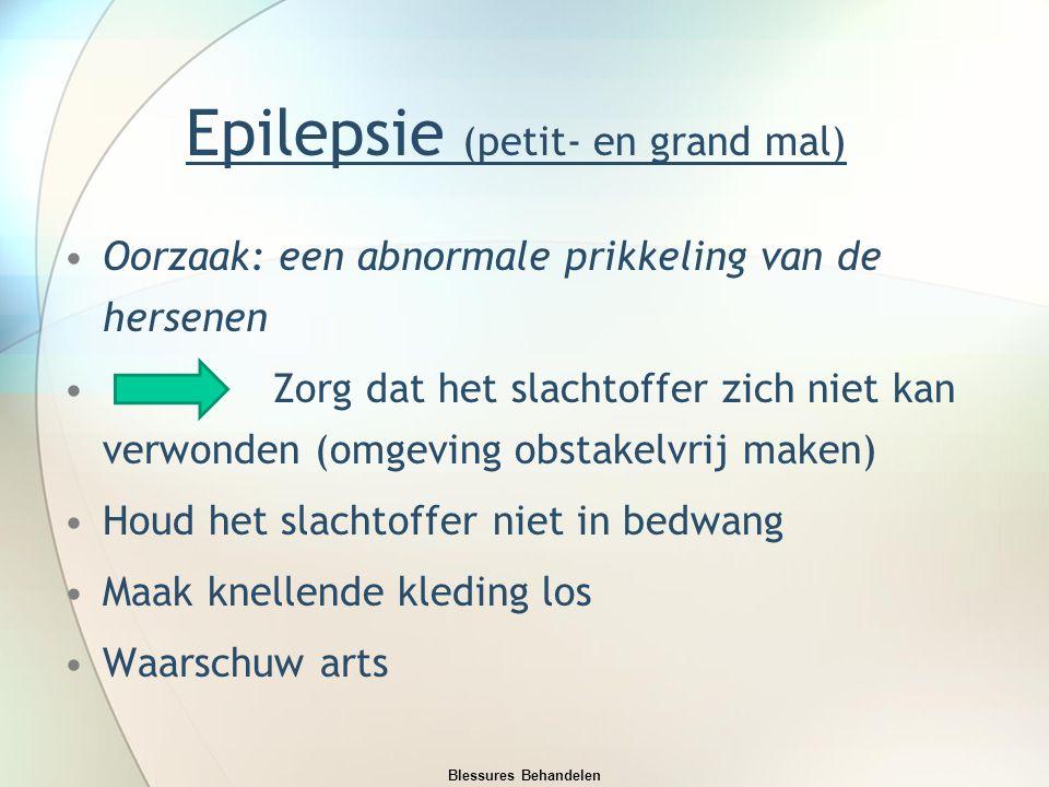 Epilepsie (petit- en grand mal)