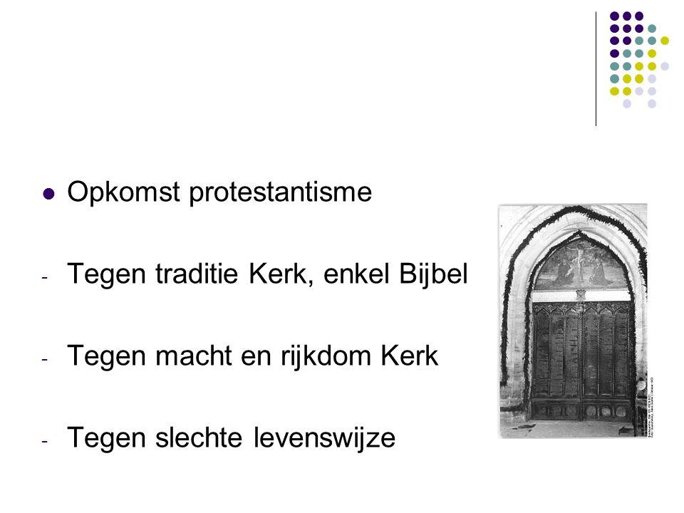 Opkomst protestantisme