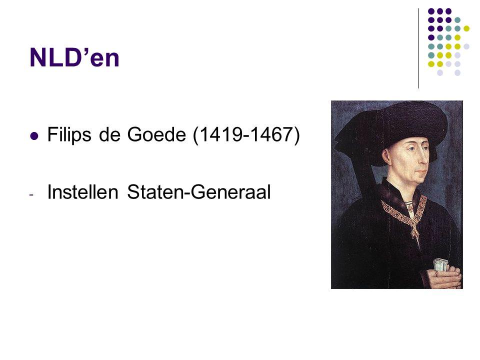 NLD'en Filips de Goede (1419-1467) Instellen Staten-Generaal
