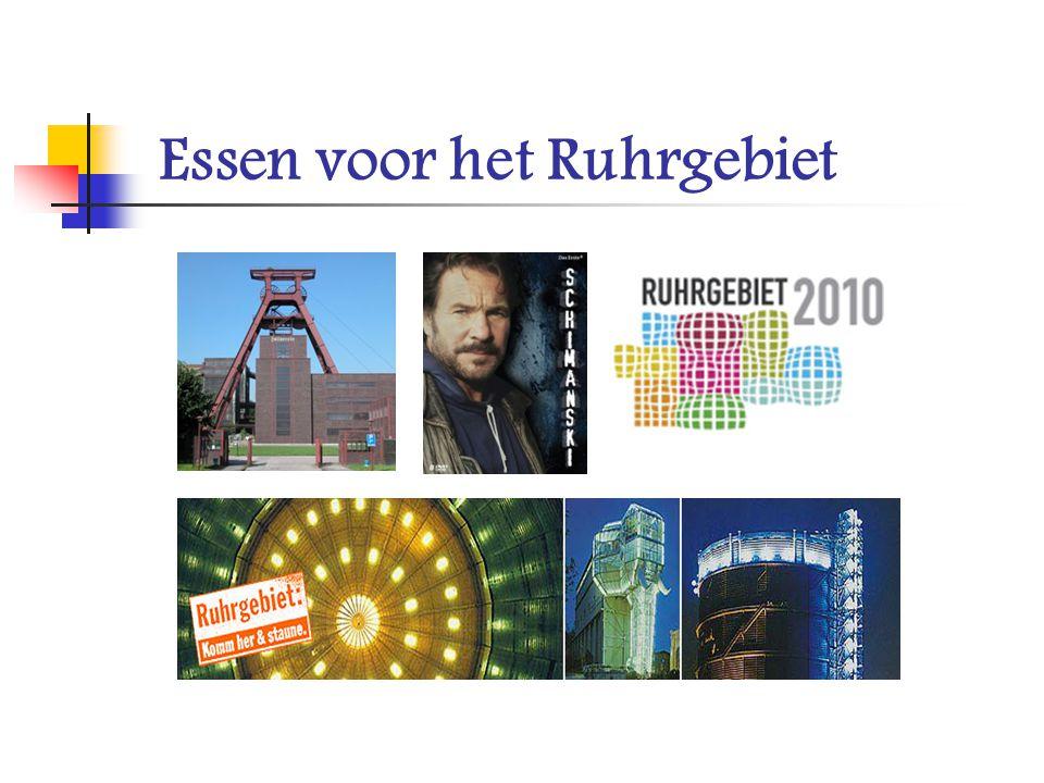 Essen voor het Ruhrgebiet