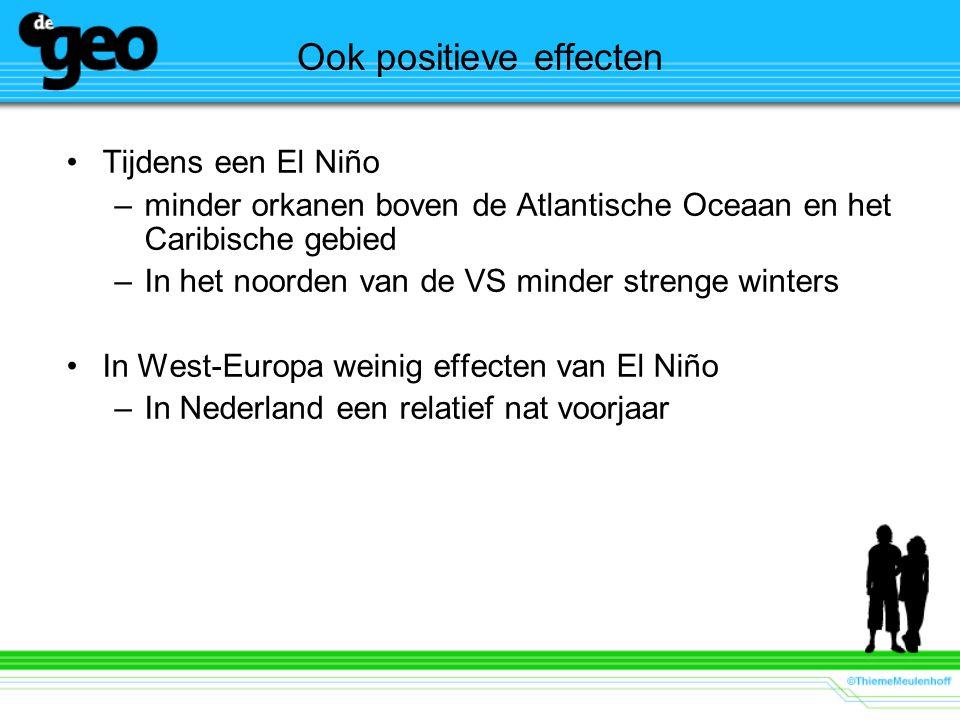 Ook positieve effecten