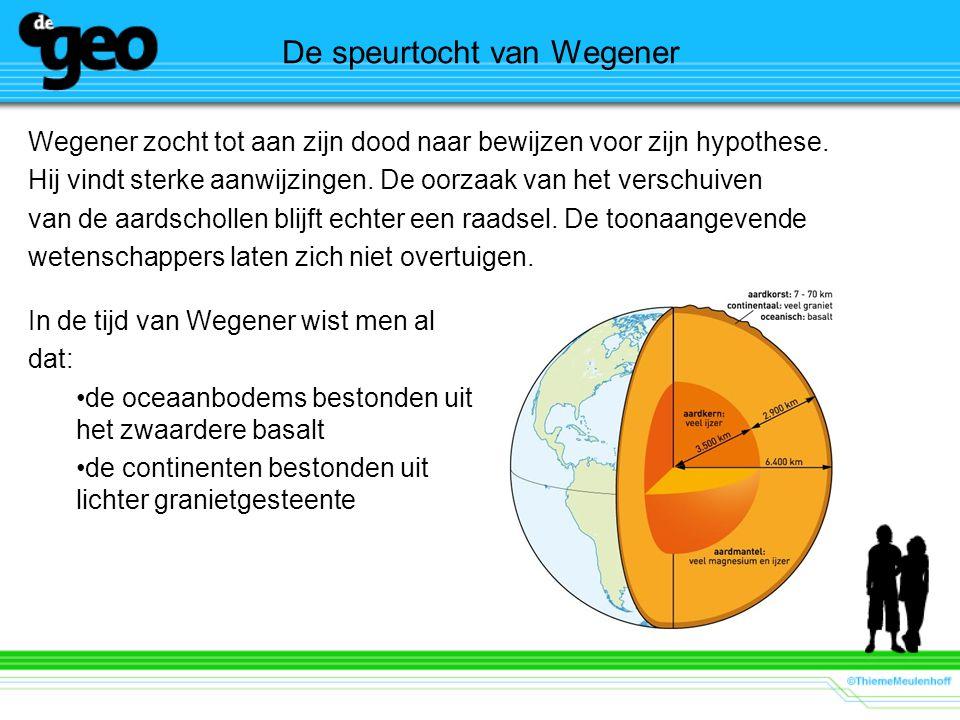 De speurtocht van Wegener