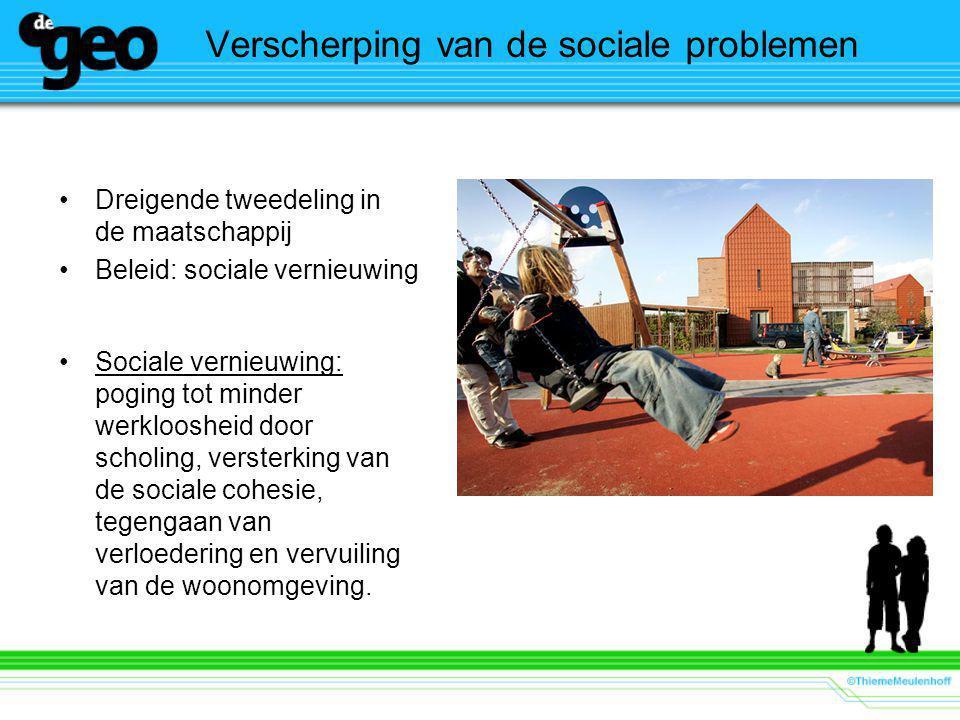Verscherping van de sociale problemen