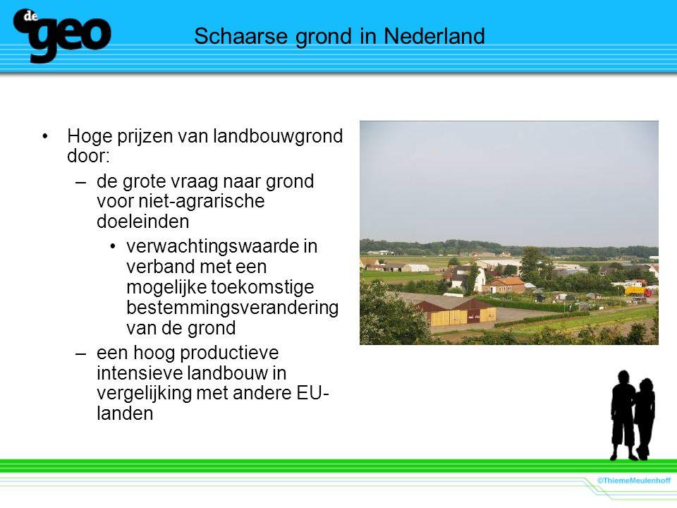 Schaarse grond in Nederland